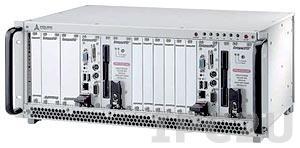 "cPCIS-2642R 19"" 3U cPCI Sub-system for Dual System w/4U Enclosure, two 32-bit 6-slot Backplane cBP-3206R, two PSU cPS-H325/AC 250W, Rear I/O"