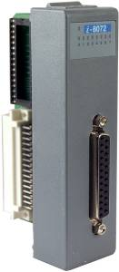 I-8072-G Printer Port & 2xX-Socket Card Module, Parallel Bus, Gray color