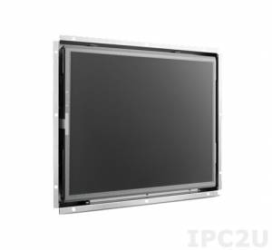 "IDS-3117N-35SXA1E 17"" SXGA 1280 x 1024 Open Frame LCD Display, 350nit, VGA, DVI, 12VDC-in, OSD Keys"