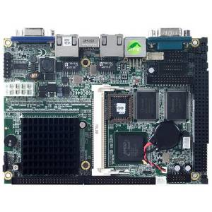 "SBC84620VEA-500 3.5"" Embedded CPU Card with AMD LX800 500MHz, VGA, LAN, Audio, 4xCOM, 1xPC/104"