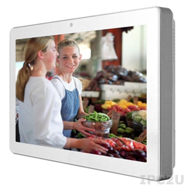 "K759 Panel PC with 21.5"" TFT LCD, Touch Screen,Intel Core i3-2120T 2.6GHz CPU, 4GB DDR3L RAM, 64GB SSD, VGA, DVD-D, 1xGbit LAN, 4xCOM, 6xUSB, 1 x 2.5"" SATA bay,19V DC-in, MOQ 20pcs"