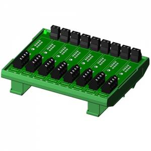 SCMPB07-1 8 Channel Backpanel for SCM5B Modules, no CJC Circuits, Compact Design