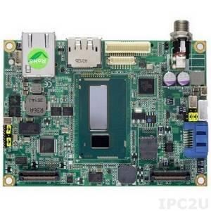 PICO880PGA-Celeron 2980U 4th Gen Intel Celeron 2980U 1.6GHz, DP/LVDS, LAN,1USB, audio, heat-spreader, heatsink, and cables