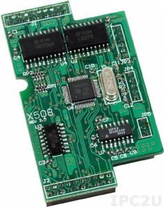 X508 1xRS-232, 4 DI & 4 DO Board, for I-7188XB/EX