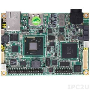 PICO830PGA-N2800 w/acc PICO830 with Intel Atom N2800 1.86GHz with Intel NM10 Chipset, DP/LVDS, Gigabit Ethernet, Audio, 2xCOM, 4xUSB, heat-spreader, heatsink, I/O stacking board AX93265 and cables
