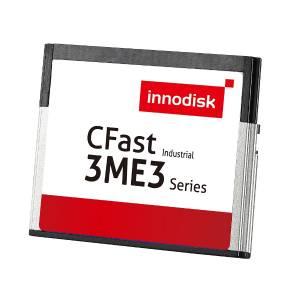 DECFA-08GD09BC1SC 8GB Industrial CFast Card, Innodisk CFast 3ME3, MLC, SATA 3, R/W 100/20 MB/s, Standard Temperature 0...+70 C