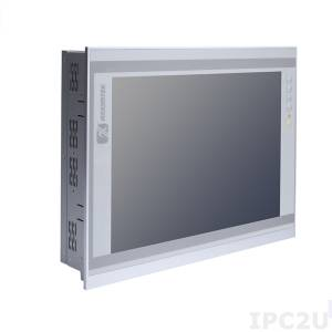 "P1177S-881 17"" TFT SXGA LCD PanelPC with LGA1150 for Intel Core i7/i5/i3/Celeron (Haswell/Broadwell), Intel H81, resistive touch screen, 2x204-pin DDR3, 1x3.5"" or 2x2.5"" HDD, 4xCOM, VGA, HDMI, 2xUSB 3.0, 4xUSB 2.0, 2xGbE LAN, Audio, power 100-240V AC 200W"