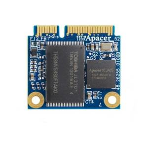 APSDM256GM1HN-1TM APACER mSATA SSD, 256GB, MLC, operating temperature 0..70C