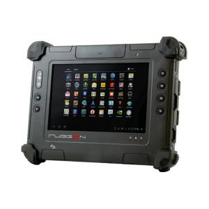"RUGGON-PA-301-NB-Android Rugged IP65 Pad, 7"" WXGA, 1280x800, 350nits, Intel OMAP4470 1.5GHz CPU, 2GB RAM, 32GB eMMC, 1xLAN, 1xCOM, 2xUSB2.0, 1x Micro USB, Micro SIM, Micro SD, GPS, Wi-Fi, BT, 1.2/5MP Cameras, 2900mAh Bat, Android 4.0"