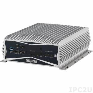 NISE-3600E-500G-i3-4G-REMW7OPC Embedded Computer, Intel Core i3-3120ME, 4GB DDR3, 2xDisplay Port, DVI-D, VGA, 2xLAN, 4xCOM, 500GB HDD, Real Time Ethernet, 9-30V DC, Windows Embedded Standard 7, OPC Server