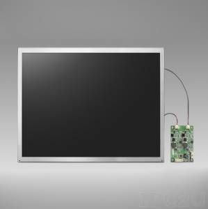 "IDK-2112N-K2SVA2E 12,1"" LCD 800 x 600 Open Frame LCD Display LED, 1200nit, LVDS interface"