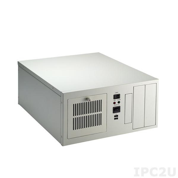 """AX60552WB 8-slot ShoeBox Industrial Computer Chassis, 2x5.25""""/1x3.5"""" HDD Slots, w/o Power Supply"""