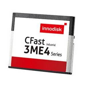 DECFA-16GM41BC1DC 16GB CompactFast Card, Innodisk CFast 3ME4, MLC, R/W 270/60 MB/s, Standard Temperature -40..+85 C