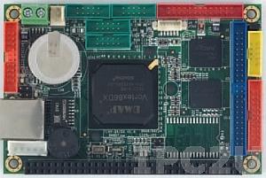 VDX-6315RD Vortex86DX Tiny CPU Module 256MB/4S/2USB/LAN/2GPIO/PWMx24, operation temp -20..70 C