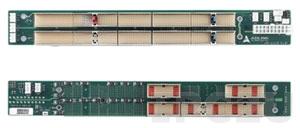 cBP-6402R 6U CompactPCI 64-bit 2-slot CT backplane w/ P3, P5 Rear I/O