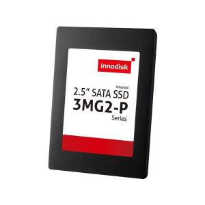 "DGS25-B56D81BW1QCP 256GB 2.5"" Innodisk 3MG2-P SSD, SATA 3, MLC,iCell, R/W 520 / 300 MB/s, Wide Temperature -40..+85 C"
