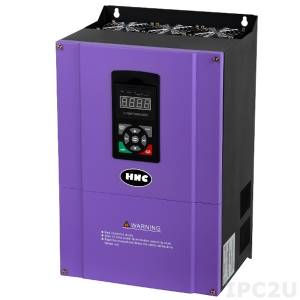 HV1000-045G3 Vector 3 Phase Frequency Inverter with 45KW Motor Power and 90A Rated Output Current, 380-440V Input Power