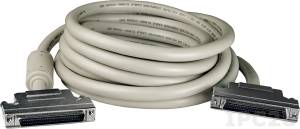 CA-SCSI50 68-pin SCSI-II connector Cable 5m, PVC, 15V