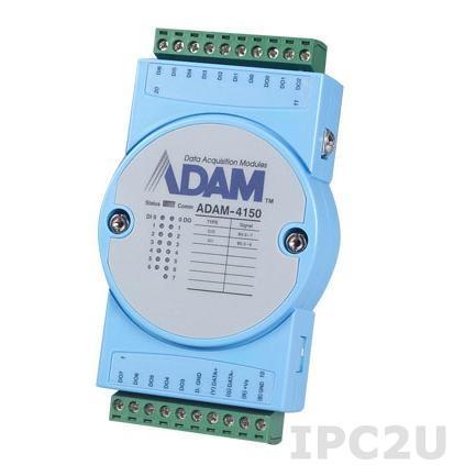 ADAM-4150-AE 15-Channel DI/O Module