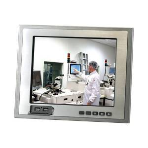 "TF-AGD-312DHTT-A2-1010 Panel Mount Display, 12.1"" TFT LCD, XGA, IP65 Front Panel, DC-in, Res T/S, 2xUSB on front panel"