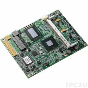 ICES-267S-i7 COM express Type2 Basic Module with Intel Core i7-2715QE / QM67, DDR3, VGA/LVDS, SDVO, IDE, 1xGigabit LAN, 8xUSB, HD Audio, 3xSATA, 1xPCI-Ex4, 2xPCI-Ex1, PCI, RoHS