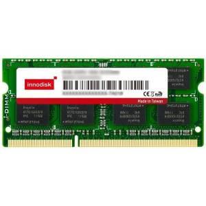 M3DW-2GSJ2CN9-F 2GB DDR3 SO-DIMM 1333MHz Industrial Innodisk Memory ECC 256Mx8, IC Samsung, 0...+85C