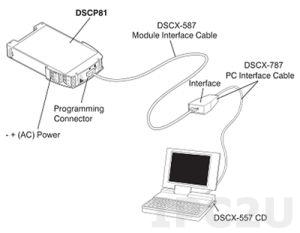 DSCX-887 DSCP20/DSCP80 Programming Adapter