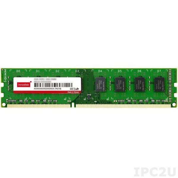 M3CW-8GSS3C0C-D 8GB DDR3 U-DIMM 1600MHz Industrial Innodisk Memory ECC 512Mx8, IC Samsung, 0...+70C