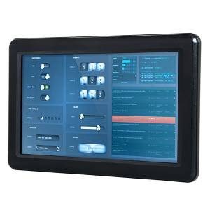"PPC-090T-D2N4N Fanless Panel PC with 9"" TFT LCD, Touch Screen, Vortex86DX2 933MHz CPU, 1GB DDR2, SATA Slim slot, CF slot, 2xCOM, 3xUSB 2.0, PS/2, 1xLAN, Audio, 12-24V DC-In"