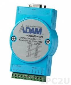 ADAM-4521-AE RS-232 to RS-422/485 Converter, Automatic Data Direction Control