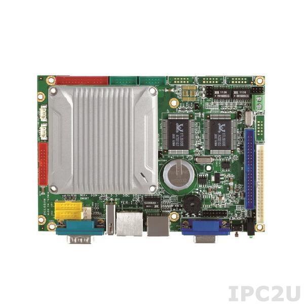 "VMXP-6426-4DS1 Vortex86MX+ 800MHz 3.5"" CPU Module 1GB/3S/4USB/VGA/LCD/LVDS/AUDIO/3LAN/GPIO/CF/PWMx16/2GB NAND Flash"