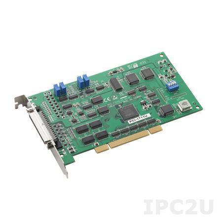 PCI-1711UL-CE 100K, 12BIT LOW-COST MULTI UNI PCI CARD