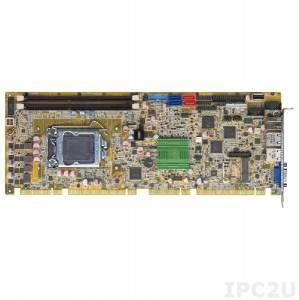 PCIE-H810 Full-size PICMG 1.3 CPU Card supports LGA1150 Intel Core i7/i5/i3, Pentium and Celeron CPU per Intel H81, 2x240-pin DIMM DDR3/DDR3L, VGA, 2xLAN, 5xUSB 2.0, 2xUSB 3.0, 2xSATA II, 2xSATA III, LPT, DIO, TPM, iDP, SMBus, mSATA