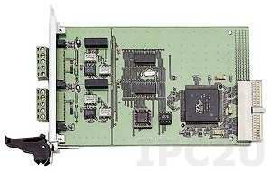 cPCI-7841 Dual-Port Isolated CAN Interface CompactPCI Card