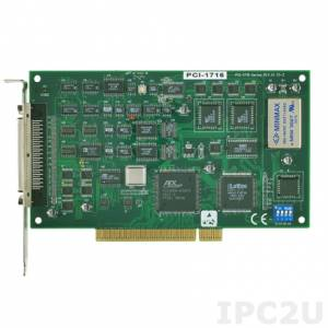 PCI-1716-AE 250 KS/s, 16-bit, 16-ch High-Resolution Multifunction Card