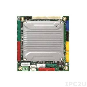 VMXP-6453-4DS1 PC/104 Vortex86MX+ 800MHz CPU Module with 1GB RAM, VGA/LCD/LVDS, 3xCOM, 4xUSB, LAN, GPIO, CompactFlash, Audio, PWMx16, 2GB NAND Flash