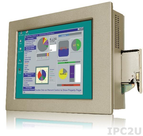 """PPC-5170AD-H61-i5/R-R10 17"""" 350 cd/m2 SXGA Panel PC with POS-H61, Core i5 Dual Core 2xxxT CPU (Above 2.7GHz), TDP 35W, 2GB DDR3 RAM*2, Silver color, PSU ACE-4520C, touch screen"""