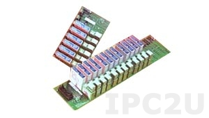 SCMVAS-PB16 16 Channel Backpanel for SCM5B30/40-07 Modules and SCMVAS High Voltage Attenuators