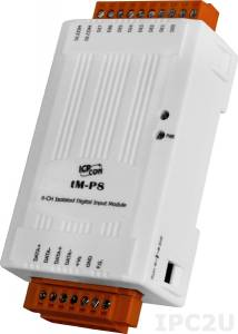 tM-P8 8-channel Isolated Digital Input Module
