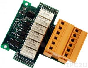 X116 Digital 4-Channel Input and 6-Channel Relay Output Board