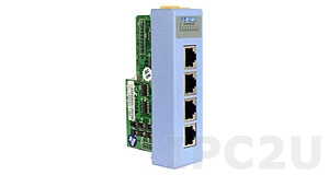 I-8114/C4 4-Channel RS-232 Module include CA-RJ0903*4 (9-Pin Male D-sub to 10-Pin RJ-45 Cable (30cm))