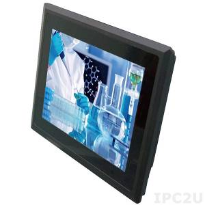 "STR52536-00C 15.1"" TFT LCD Fanless Panel PC, resistive touch, 3I380CW-I44-00, Intel Atom E3845 1.91Ghz, 4Gb DDR3, 2.5"" Slim HDD, 4xCOM, 2xLAN, 4xUSB, VGA, HDMI, 2xMini PCIe, DC IN 12V"