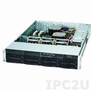 """iROBO-SR213-R 2U Rackmount Server, 2x AMD Bulldozer Series, max. 256GB DDR3 ECC REG RAM, Up to 4x 3.5"""" HDD Hotswap SAS/SATA, LSI 2008 SAS 8 port Raid, VGA, 2xGbit LAN,720W redundant PSU"""