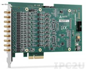 PCIe-9529 8-CH 24-Bit High-Resolution Dynamic Signal Acquisition Module