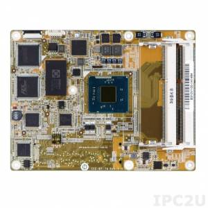 ICE-BT-T6-N28071 COM Express Basic Type 6 Module, Intel Celeron N2807 1.58GHz CPU, VGA, DDI, LVDS, GbE, SATA, USB 3.0 and HD Audio, -20..+60C