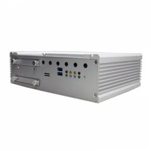 "ARTS-4770 Fanless Train PC with Intel Core i7- 3517UE CPU, Intel PCH QM77, DDR3, VGA/DVI-D, 2xGbit LAN, 4x PoE, 2xCOM, 4xUSB, DIO, Audio, 2x SIM Socket, 2x2.5"" SATA HDD Bay, 9-36V DC-In, -20...+55"