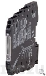 DSCP64 DIN Rail, 6.2mm Voltage or Current Input Converter with Transducer Power