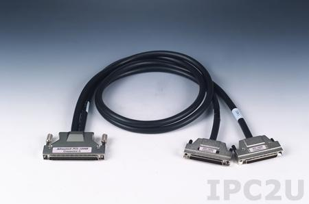 PCL-10268-1E CABLE, SCSI-100 to 2 SCSI-68 Ribbon-Type Cable, 1m