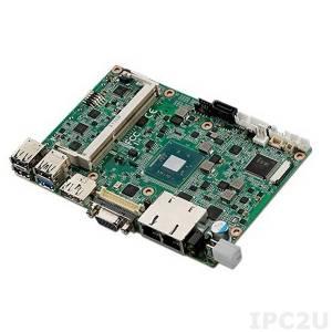 "MIO-5251E-S3A1E 3.5"" SBC with Intel Atom E3825 1.33GHz, DDR3L,VGA, LVDS, eDP, HDMI, DP, 2xGB LAN, 4xCOM, USB 3.0, Mini PCIe, mSATA, MIOe, Audio"