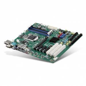 AIMB-785G2-00A1E ATX LGA1151 Intel Core i3/i5/i7/Pentium CPU Card, up to 64GB DDR4 DIMM, VGA/2xDVI, 2xGb LAN, 5xCOM, 5xUSB 2.0, 2xUSB 3.0, GPIO, 6xSATA, Raid 0,1,5,10, 1xPCI- E x16, 3xPCI- E x4, 3xPCI Expansion Slots